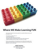 Little Learners Print Ad
